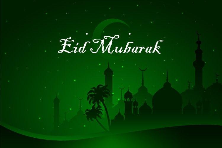 Eid Mobarak HD Wallpaper Free