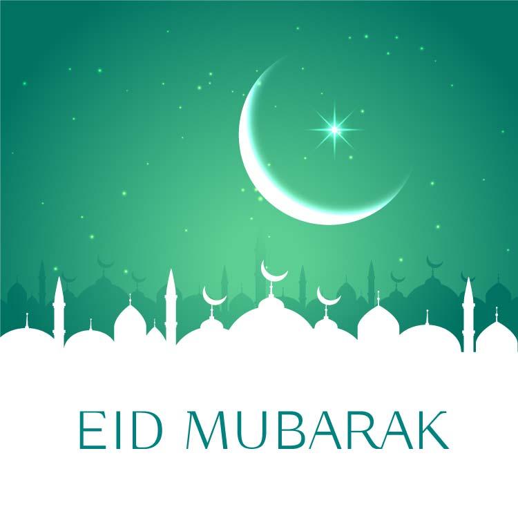 Eid Mubarak HD Pic