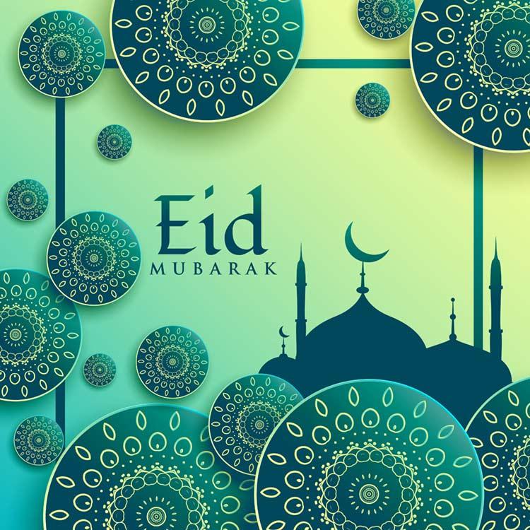 Eid Mubarak HD Picture for Facebook