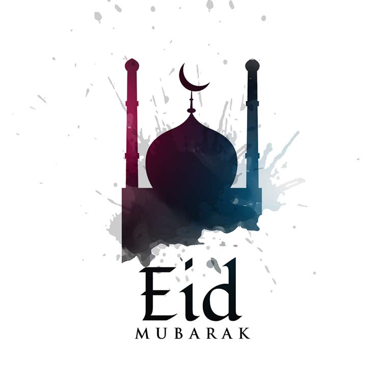 Eid Mubarak HD Wallpaper for Facebook
