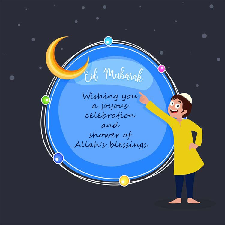 Eid mubarak wishes greetings 2018 with images happy eid muabarak for kids m4hsunfo