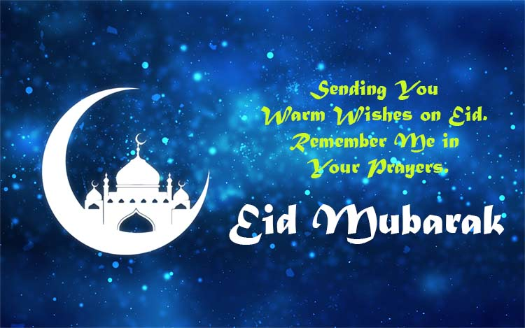 Eid mubarak messages 2018