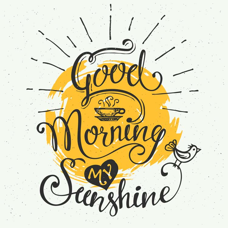 Good morning coffee images sunshine