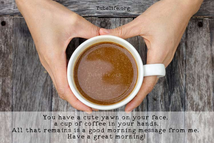 Good morning coffee images with quotes 1
