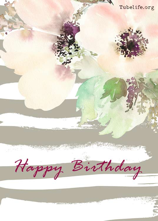 Beautiful Flowers For Happy Birthday Wishes Cards Pictures Of