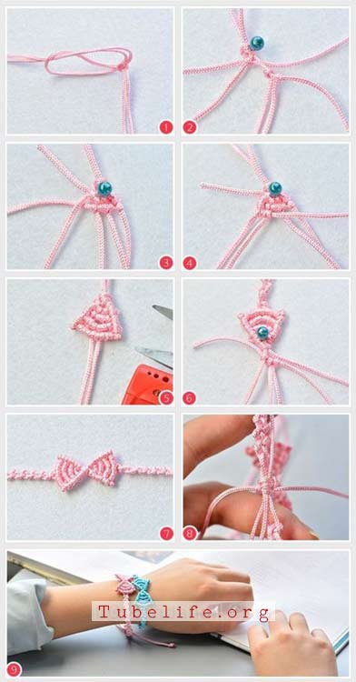 DIY bracelets with beads