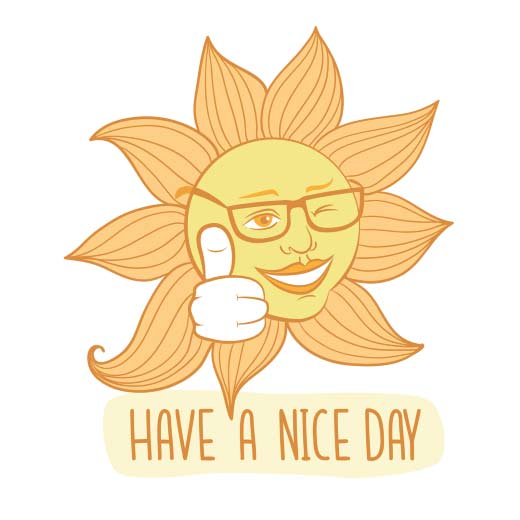 Good morning sunshine clipart image