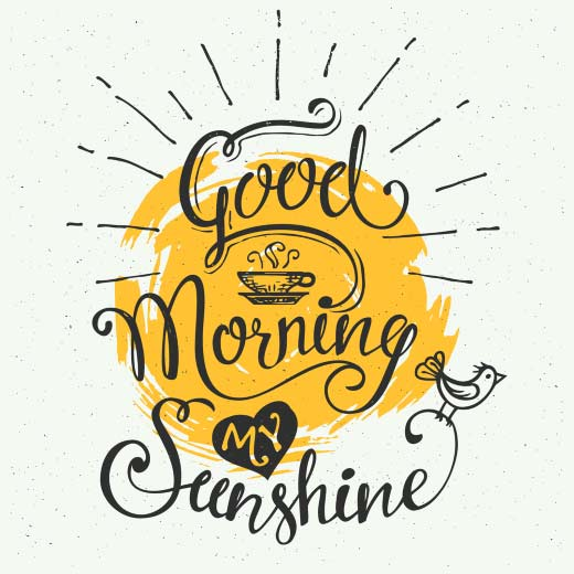 Good morning sunshine picture