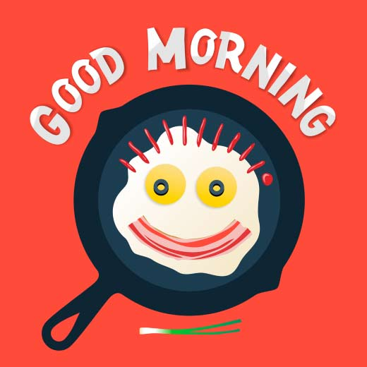 Premium Good Morning Text Clip Art Writings