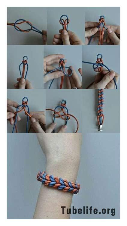 Handmade bracelets step by step
