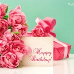 39 Beautiful Happy Birthday Wishes with Flowers' Images HD Free Download