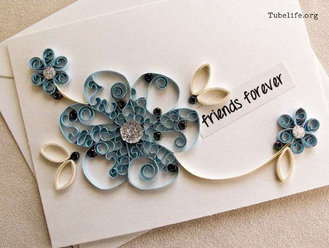 How to make a friendship card with paper