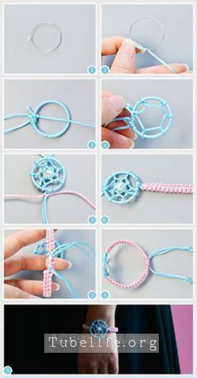 How to make friendship bracelets with a ring