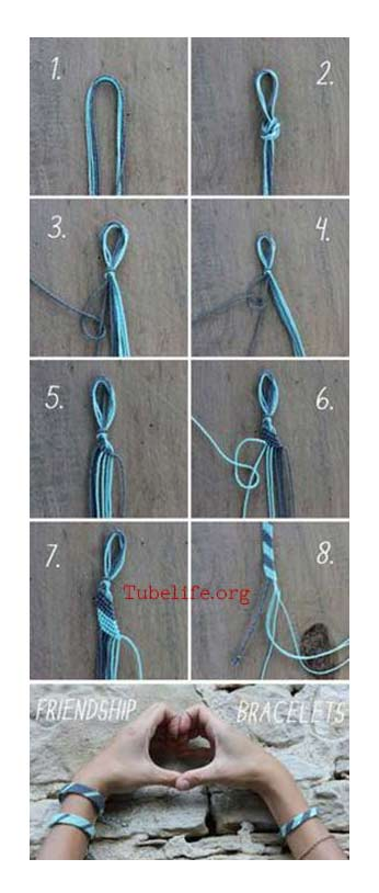 How to make handmade bracelets with string