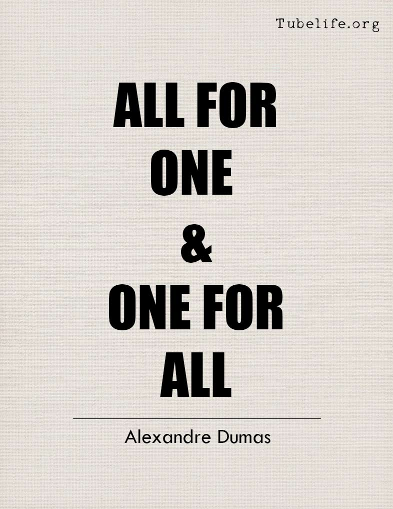 Inspirational Quote Alexandre Dumas