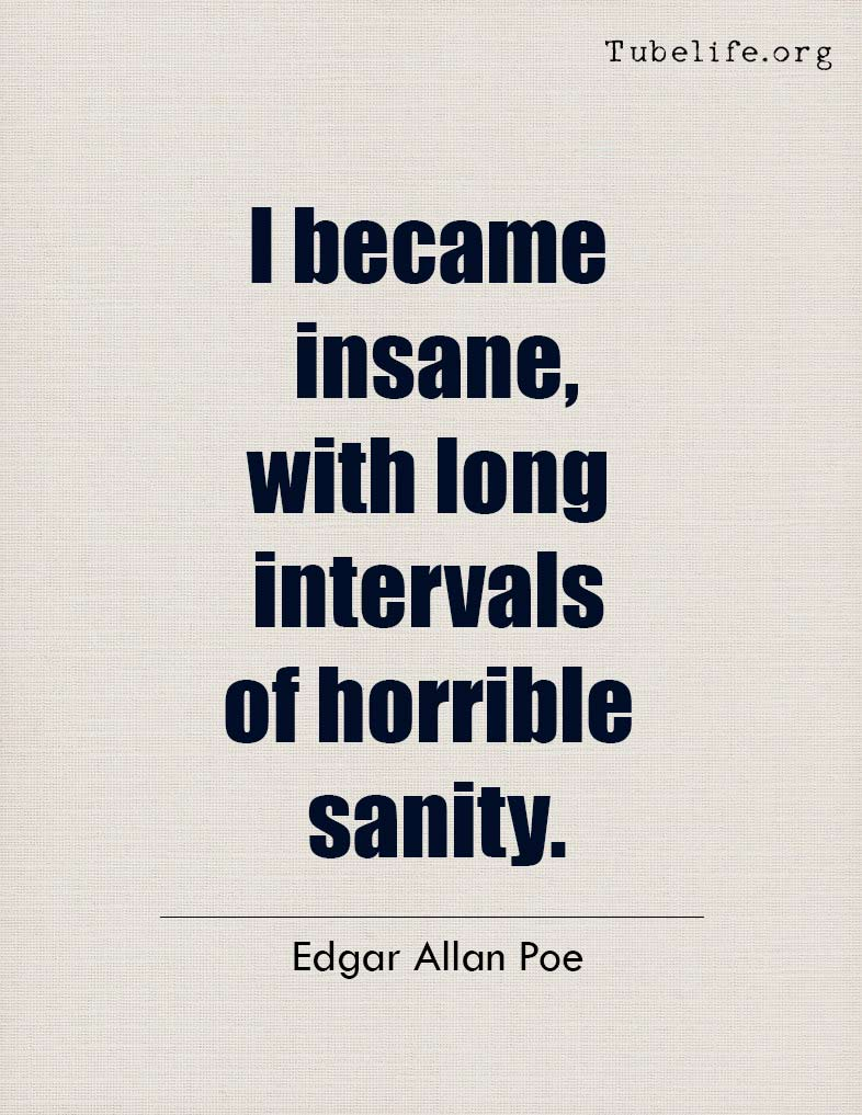 Inspirational Quote Edgar Allan Poe