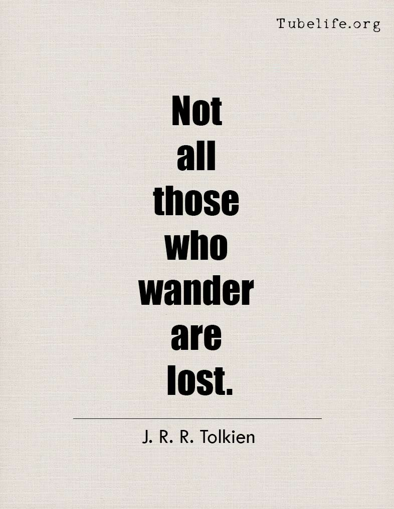 Inspirational Quote J R R Tolkien