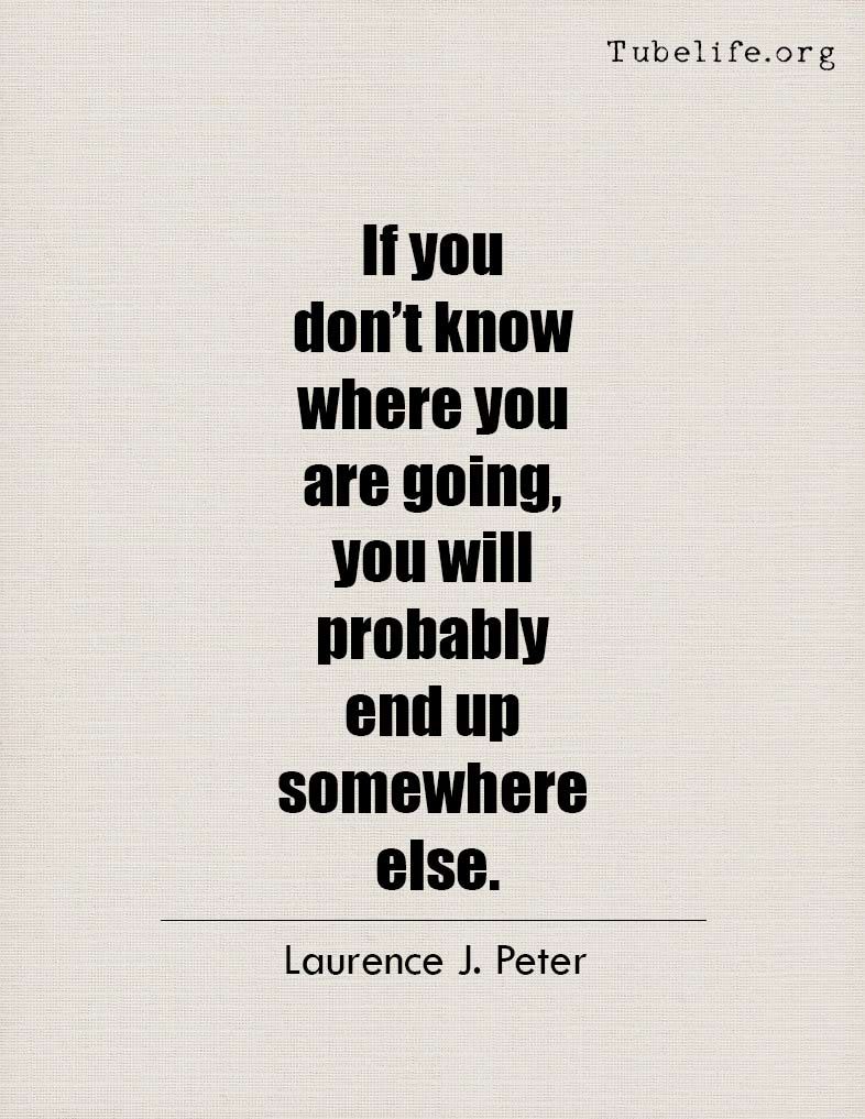 Inspirational Quote Laurence J Peter