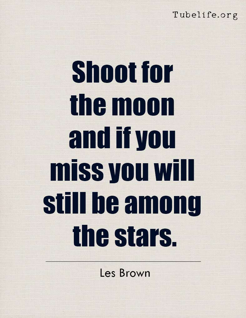 Inspirational Quote Les Brown