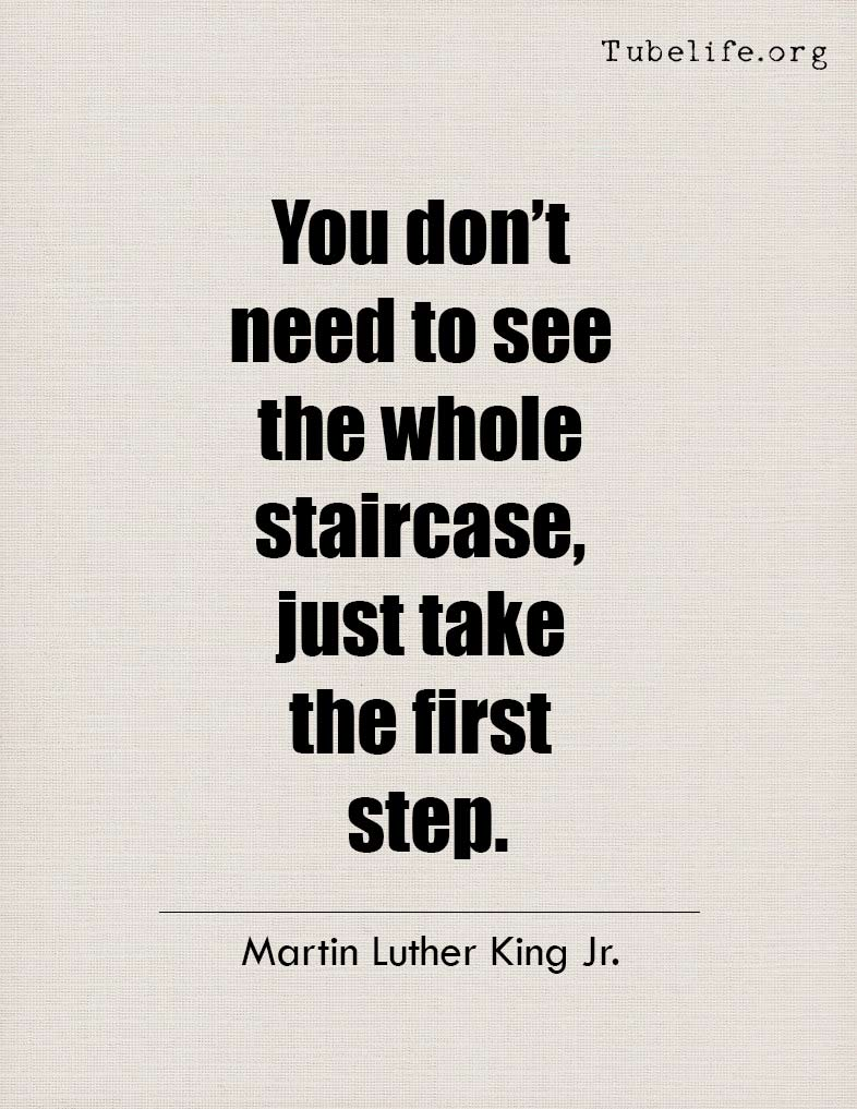 Inspirational Quote Martin Luther King Jr
