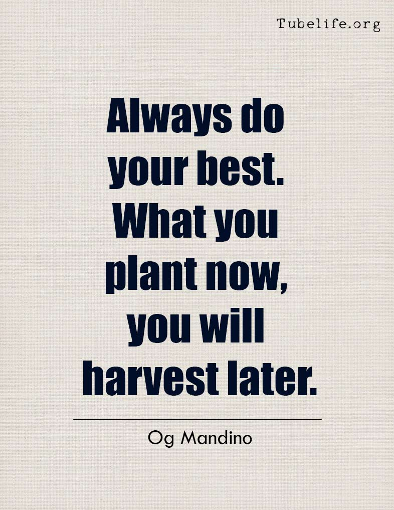 Inspirational Quote Og Mandino