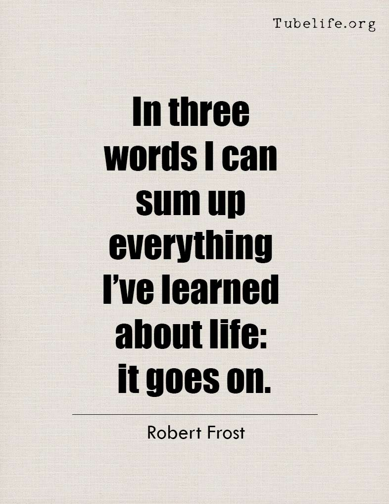 Inspirational Quote Robert Frost