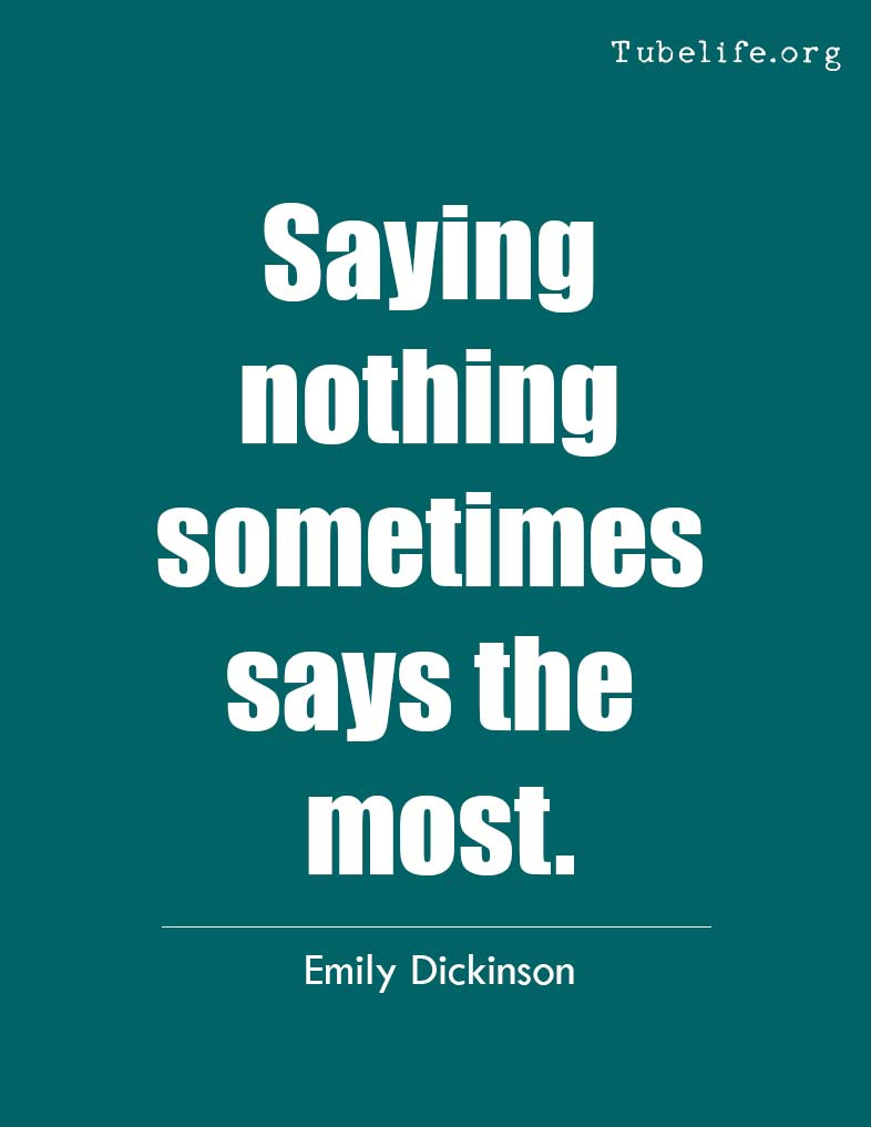 Inspirational Quote Emily Dickinson