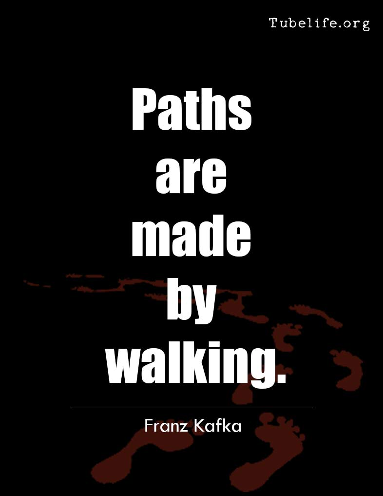 Inspirational Quote Franz Kafka