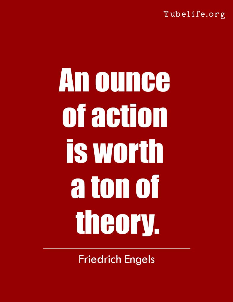 Inspirational Quote Friedrich Engels