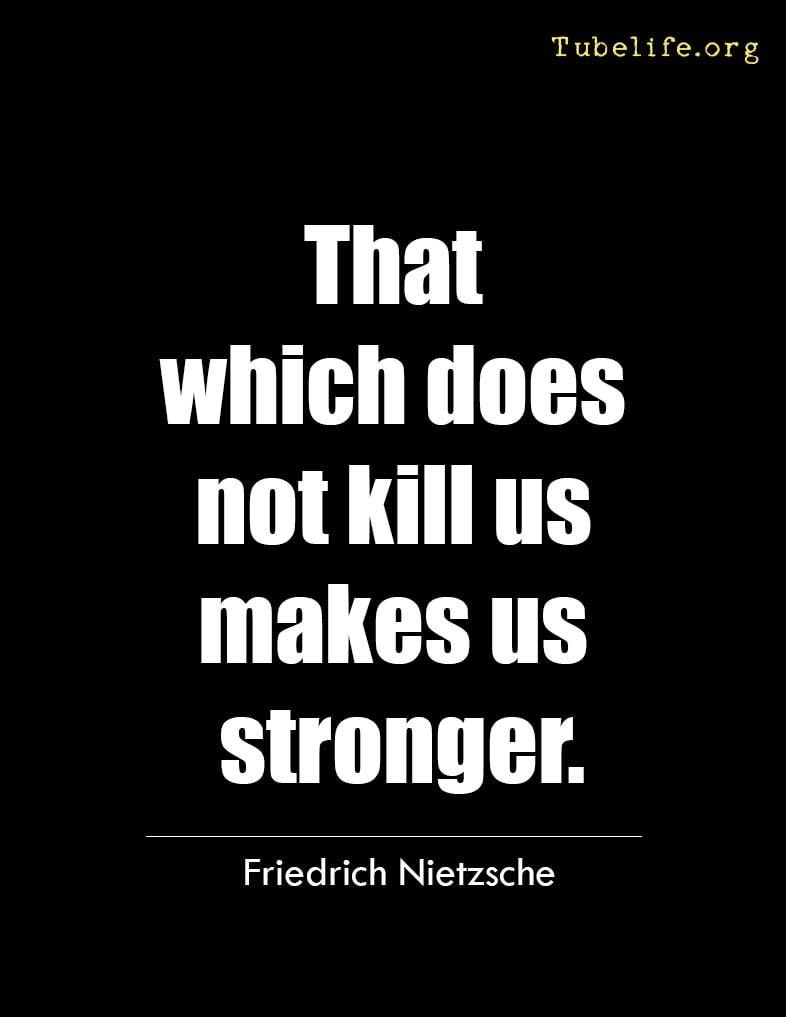 Inspirational Quote Friedrich Nietzsche