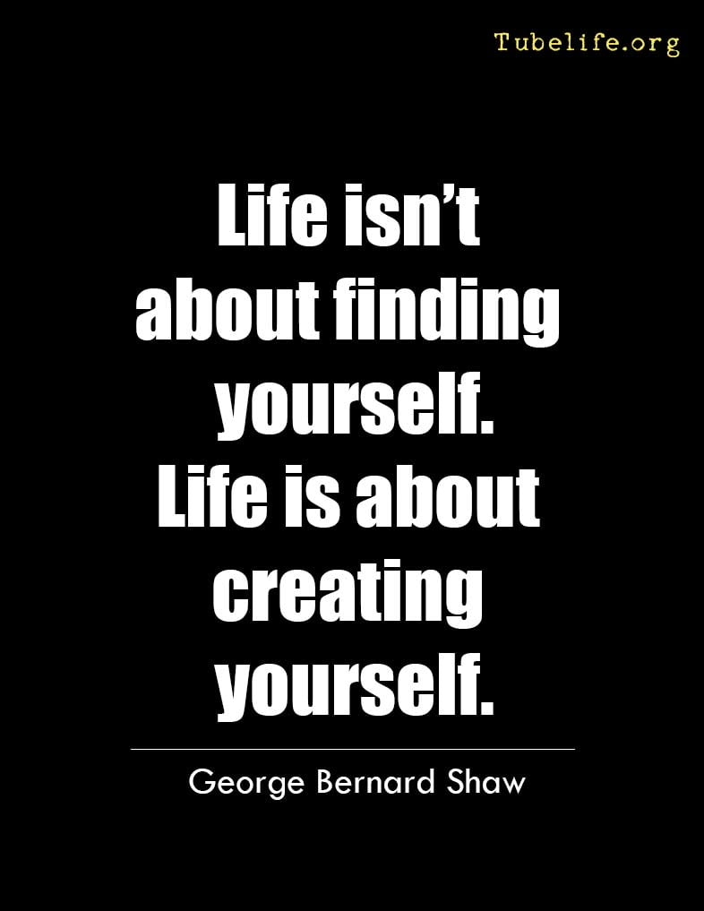 Inspirational Quote George Bernard Shaw