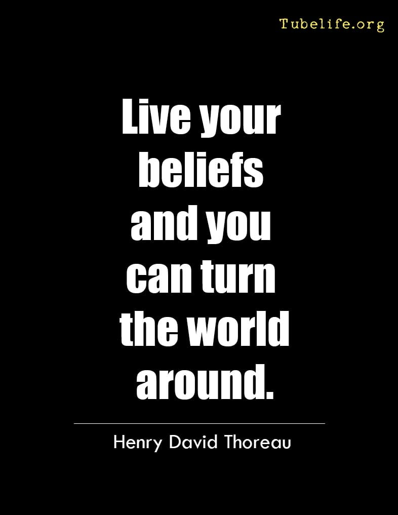 Inspirational Quote Henry David Thoreau