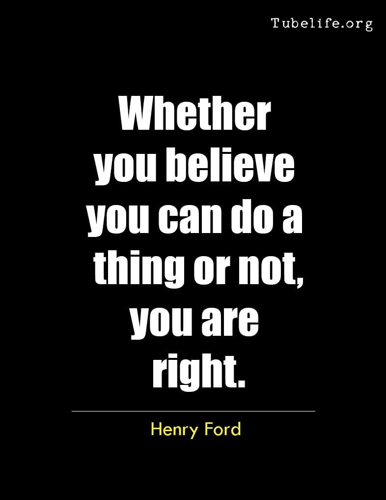 Inspirational Quote Henry Ford