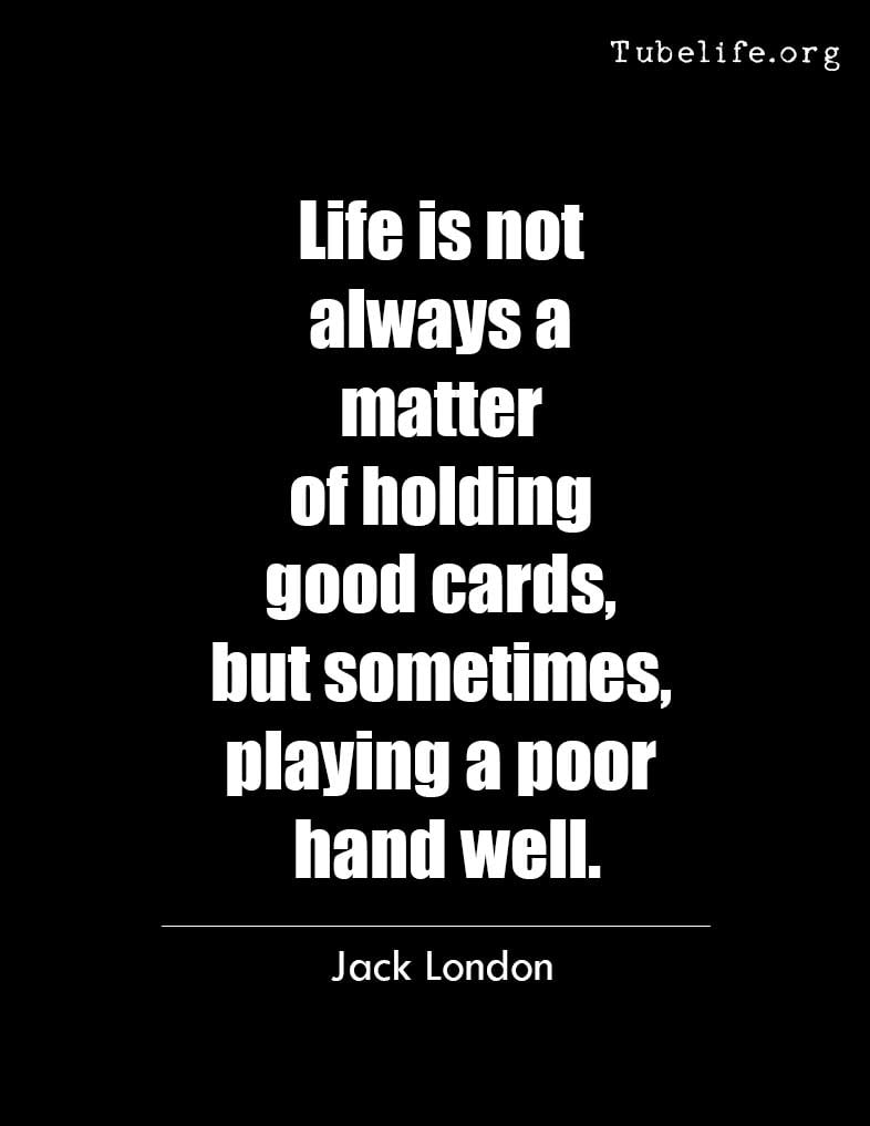 Inspirational Quote Jack London