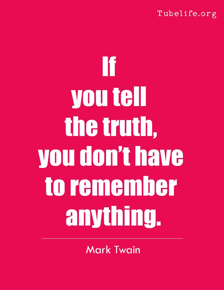 Inspirational Quote Mark Twain
