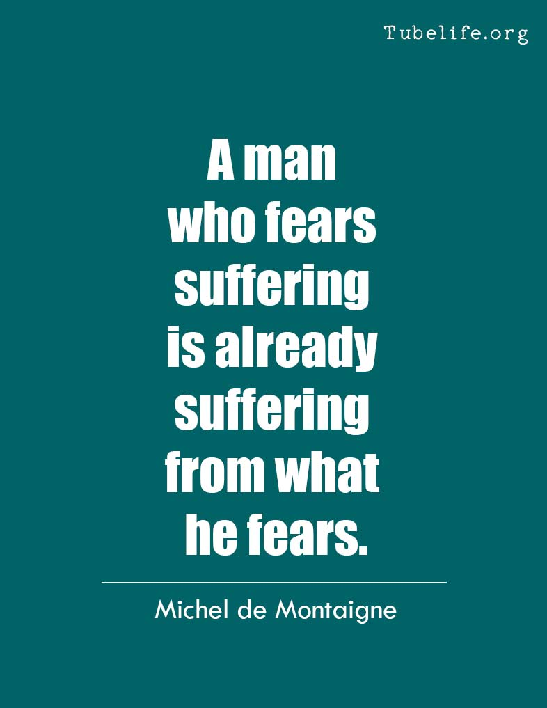 Inspirational Quote Michel de Montaigne