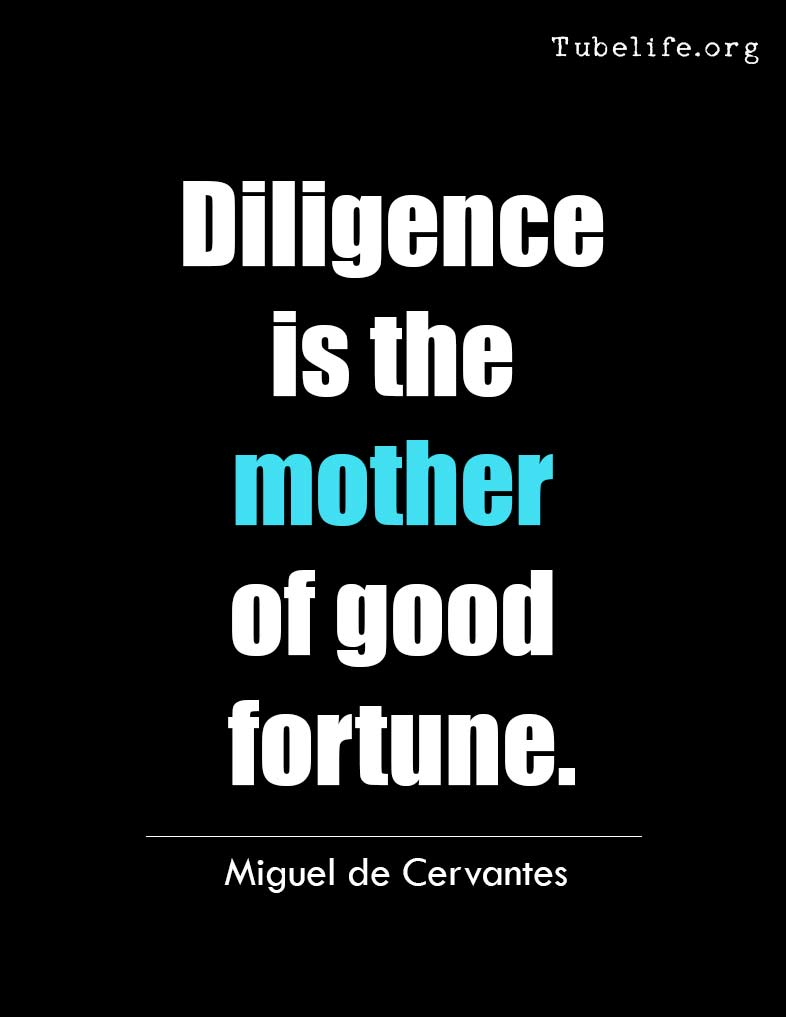 Inspirational Quote Miguel Cervantes