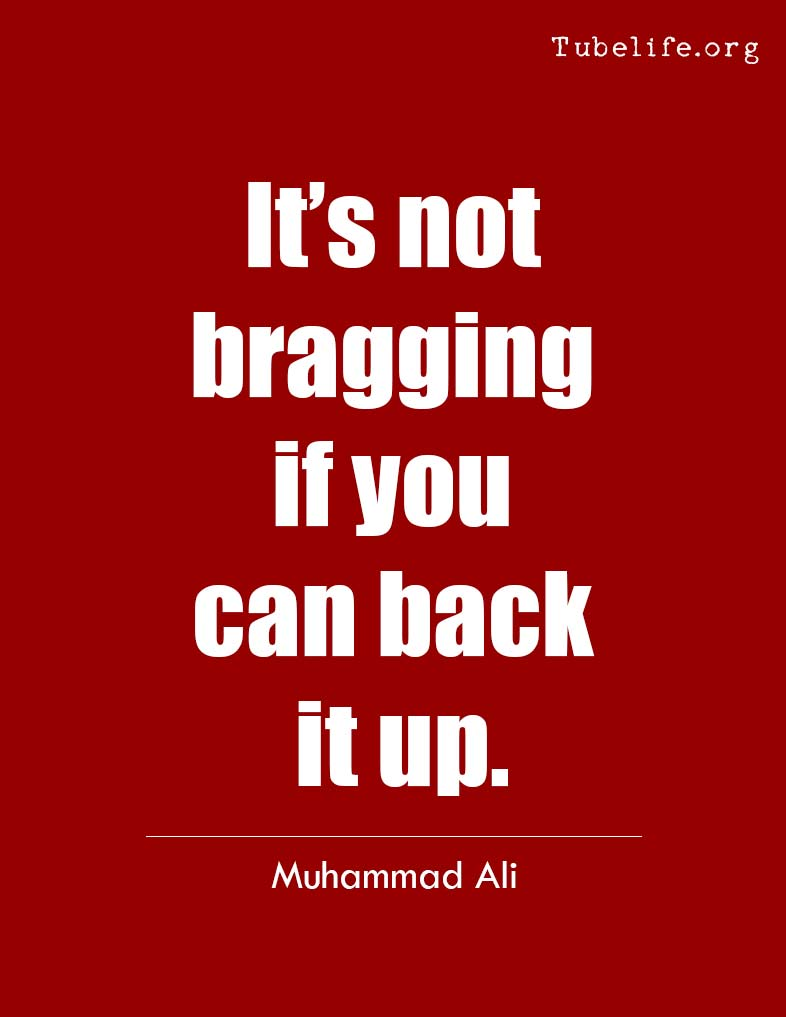 Inspirational Quote Muhammad Ali