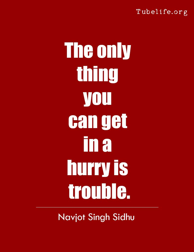 Inspirational Quote Navjot Singh Sidhu