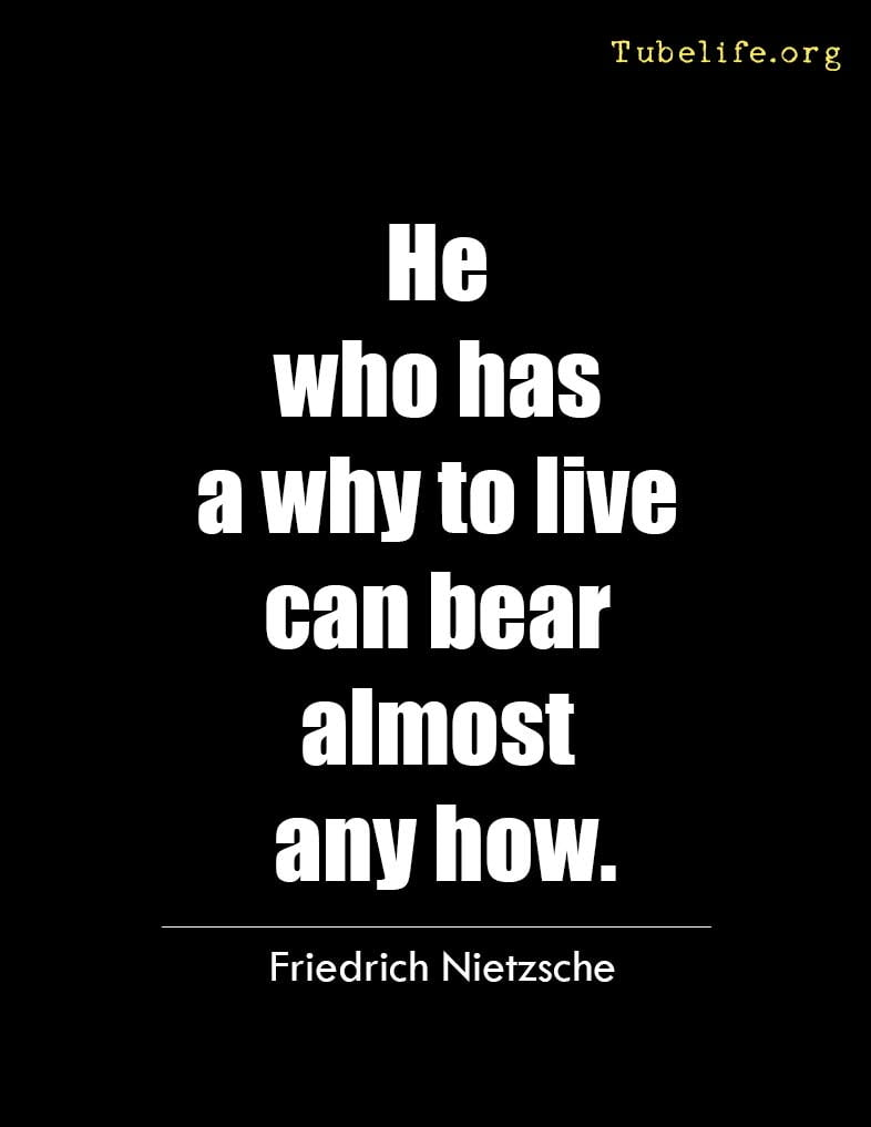 Inspirational Quote Nietzsche