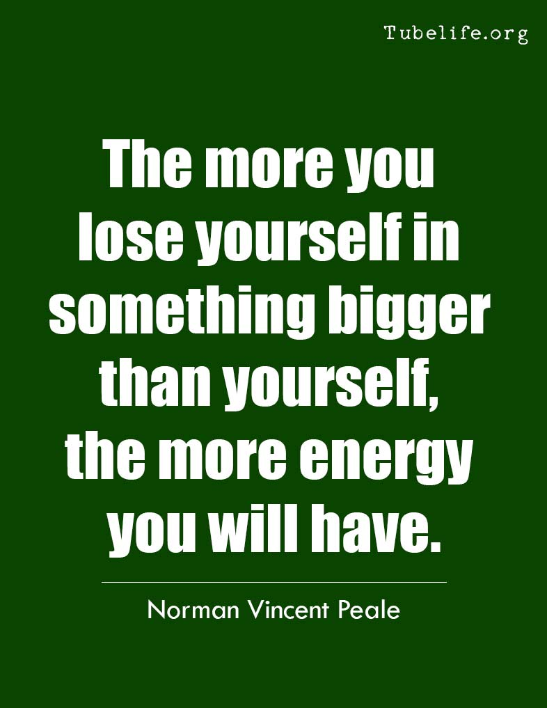 Inspirational Quote Norman Vincent Peale