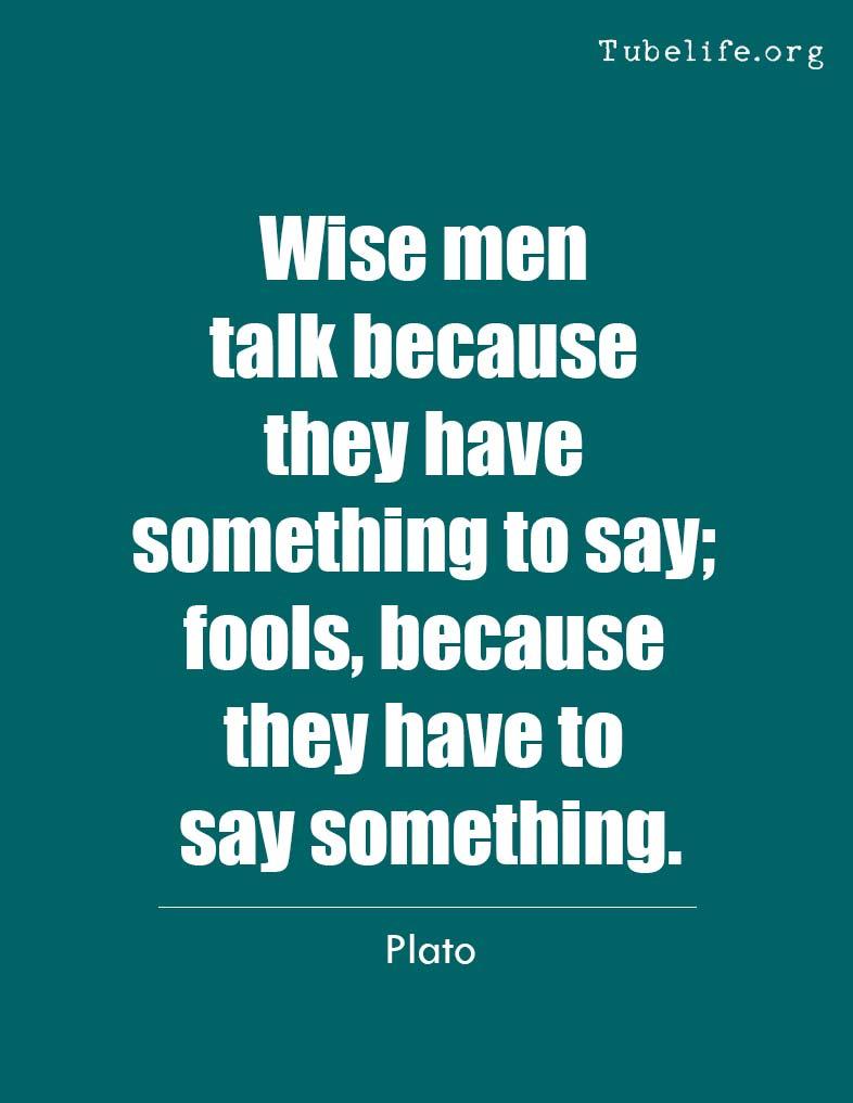 Inspirational Quote Plato