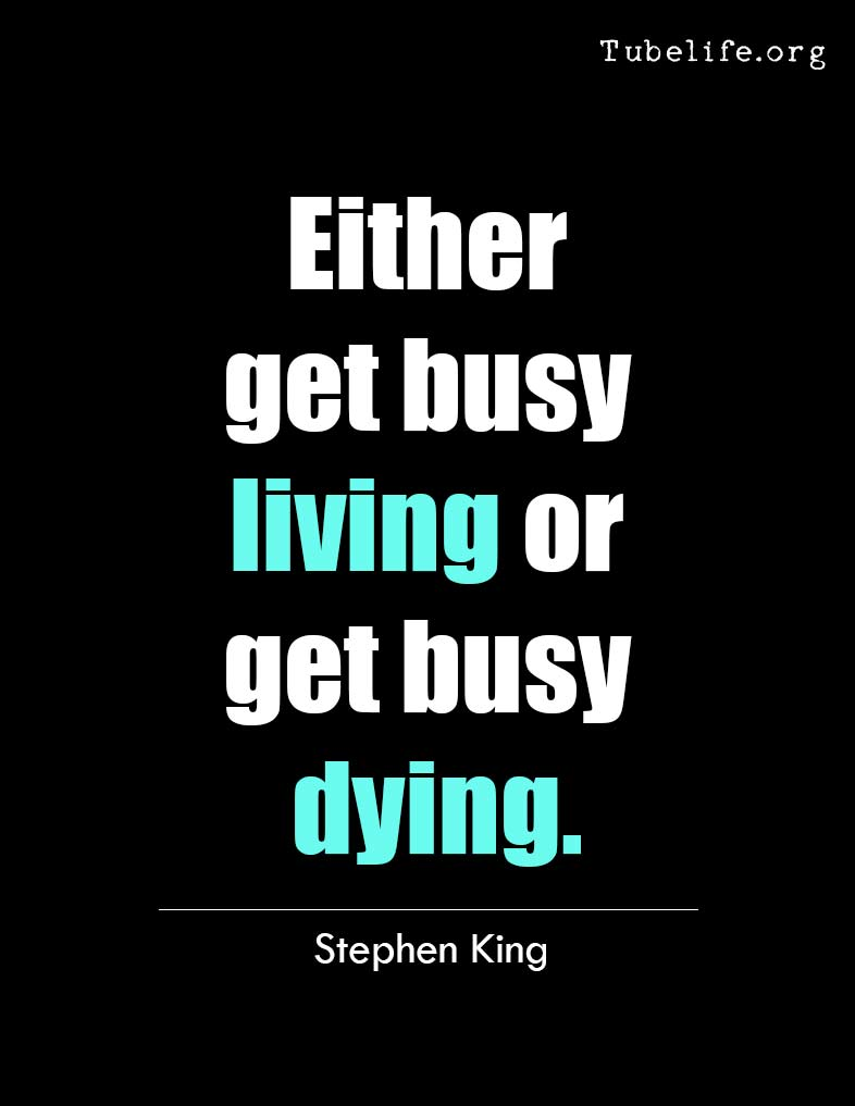 Inspirational Quote Stephen King