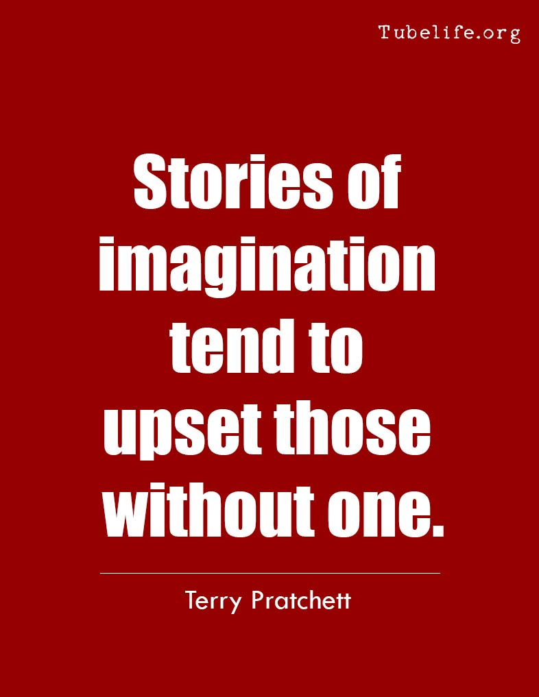 Inspirational Quote Terry Pratchett