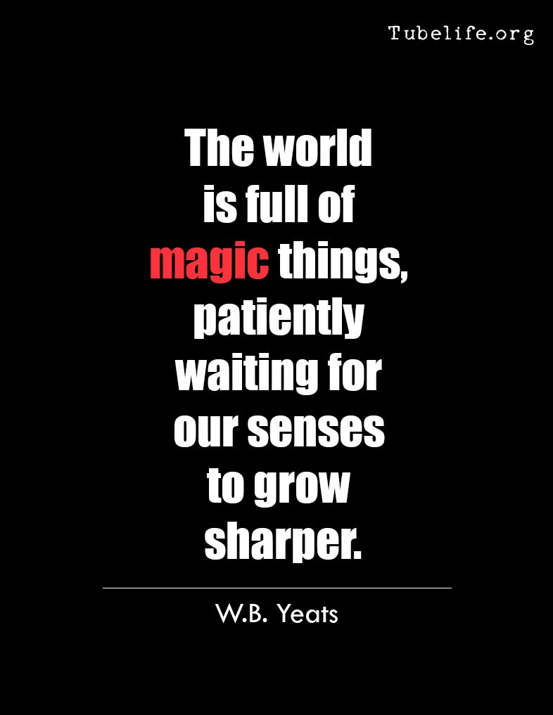 Inspirational Quote W B Yeats