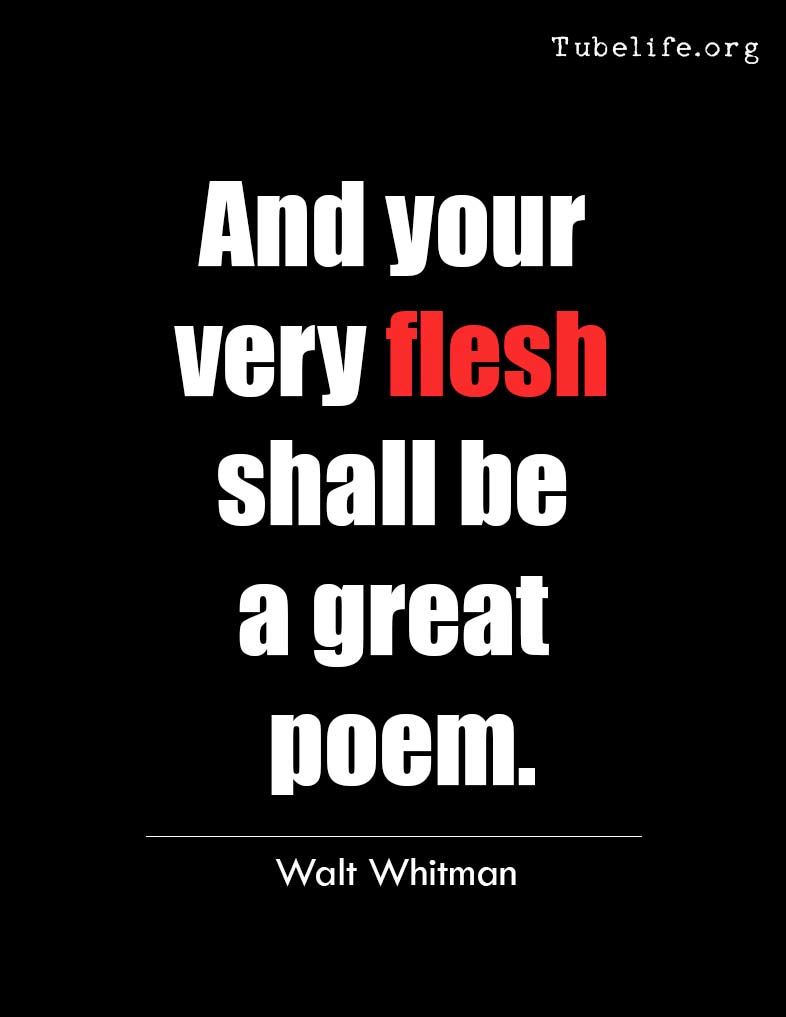 Inspirational Quote Whitman