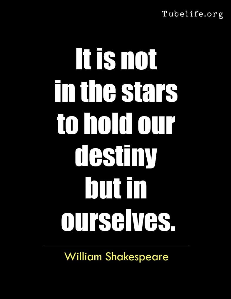 Inspirational Quote William Shakespeare
