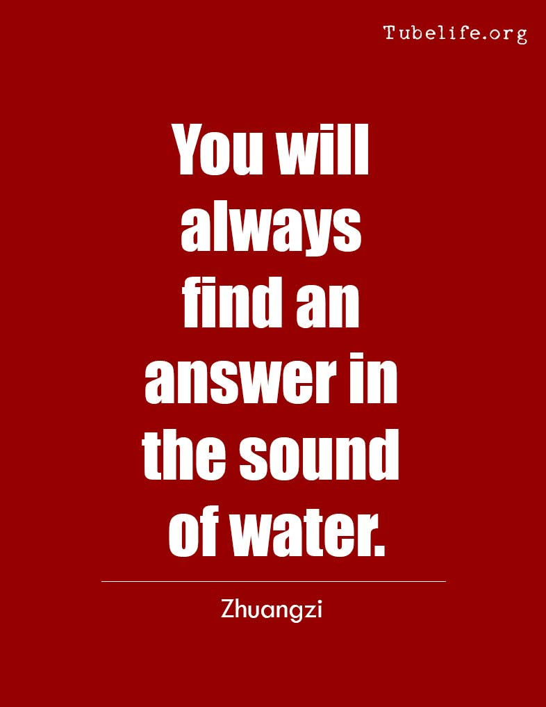 Inspirational Quote Zhuangzi