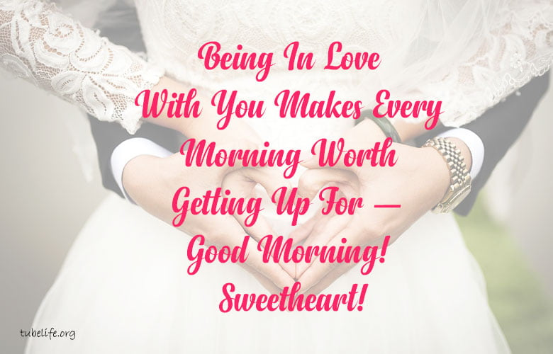 Romantic Good Morning Quotes Two