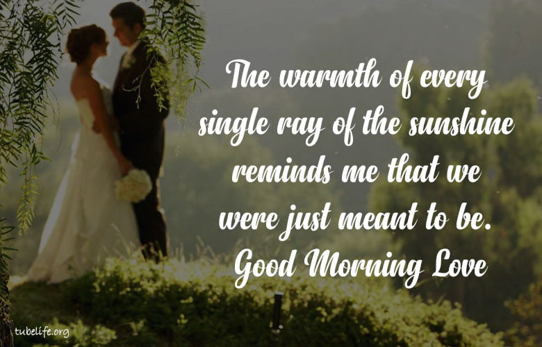 Sweet Good Morning Quotes One